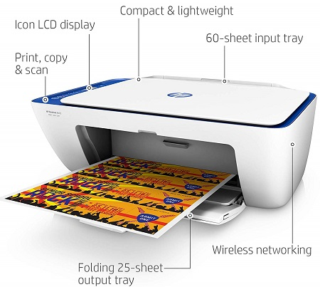HP V1N07A#742 DeskJet 2622 All-in-One Printer Price in USA, Canada, UK, Europe, India, Full Specifications and Reviews