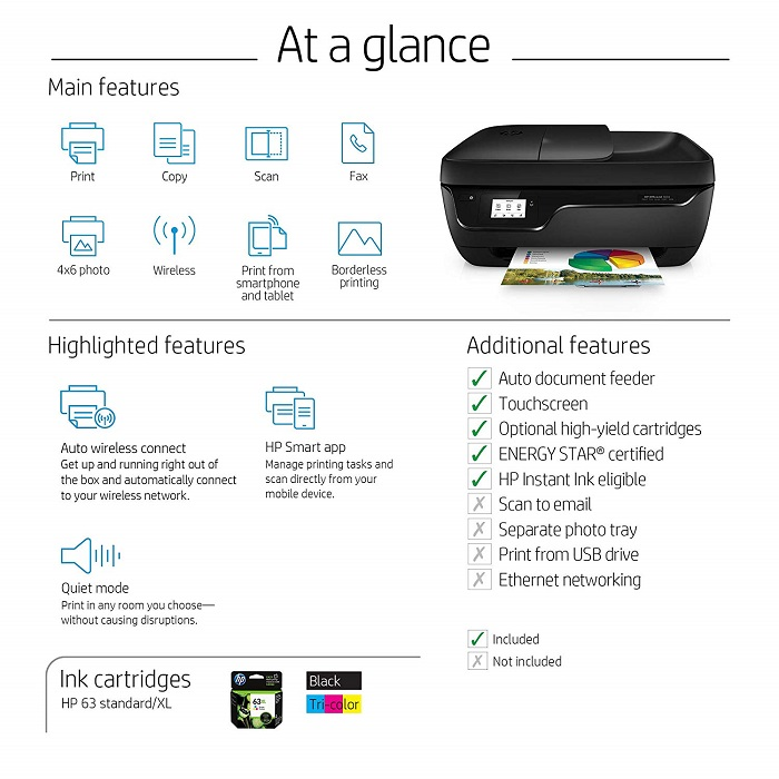 Hp Officejet 3830 all-in-one printer driver download for Windows & MAC