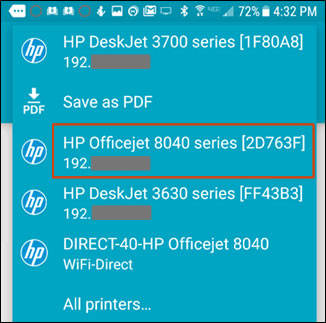 7 Steps to print from phone to hp printer