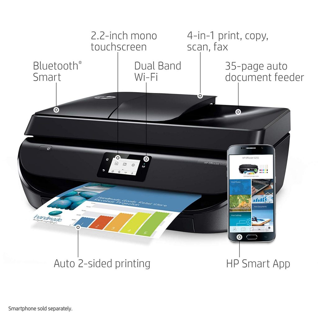 HP OfficeJet 5255 Price, Specs and Review