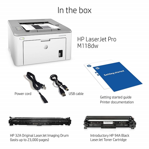 HP LaserJet Pro M118dw Price, Spec and Review