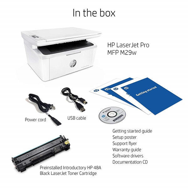 HP LaserJet Pro MFP M29w Review, Specs and Price