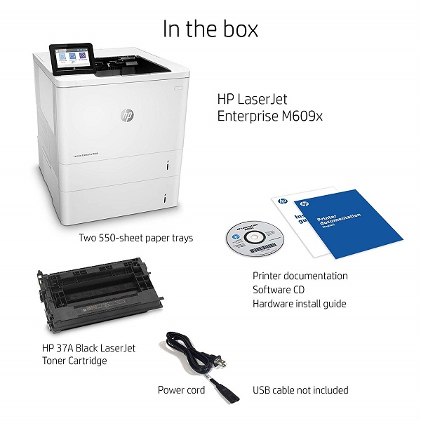 HP LaserJet Enterprise M609x Price, Specs and Review