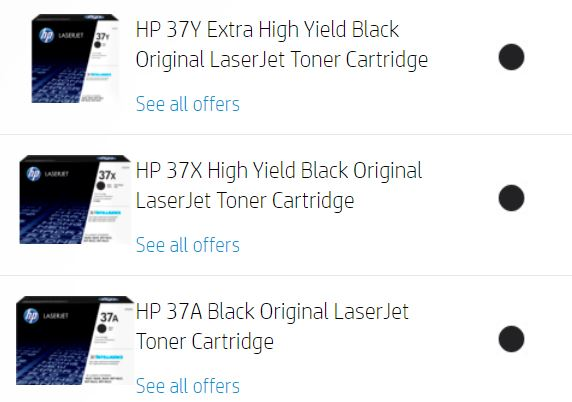 HP Laserjet Enterprise M609x toner price and where to buy